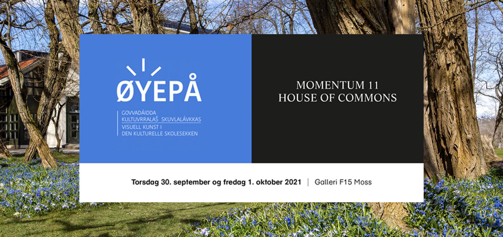 Øyepå Momentum 2021: House of Commons